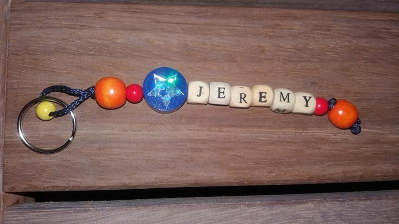Bag tag Jeremy